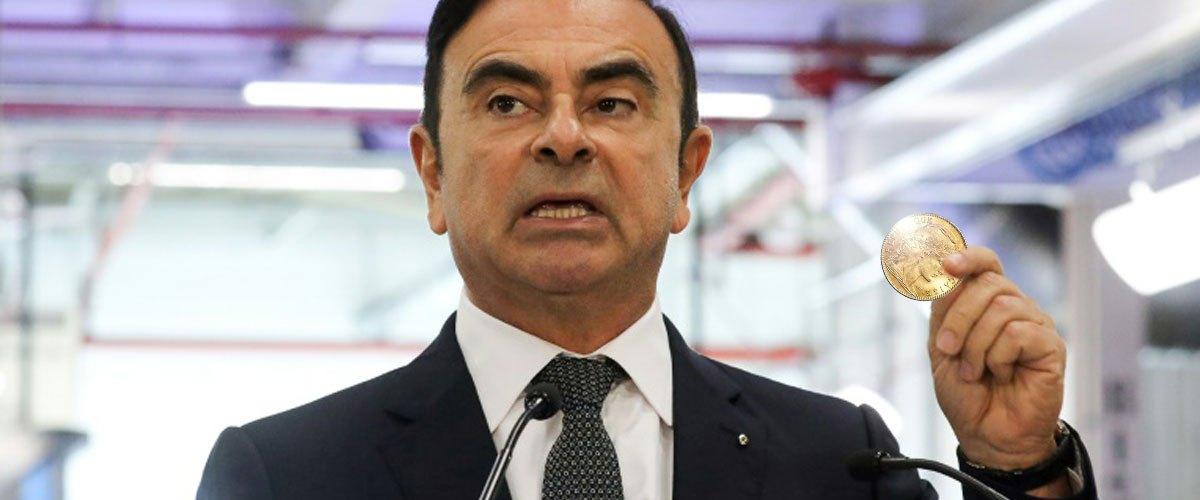 Opération pièces Ghosn : les pièces jaunes rembourseront l'évasion de Carlos Ghosn