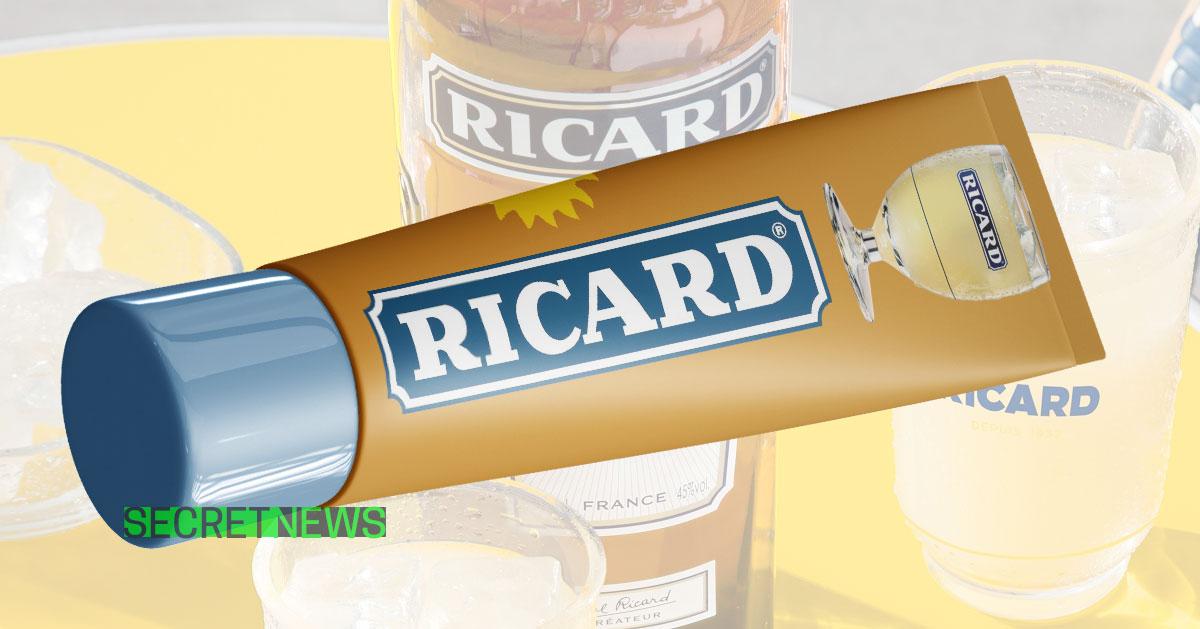 Ricard Commercialise Un Gel Hydroalcoolique Au Pastis A Melanger