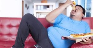 Confinement : le poids moyen des Français a augmenté de +17% en un mois