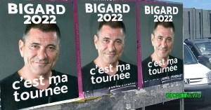 """""""C'est ma tournée"""" : Jean-Marie Bigard en campagne pour la présidentielle 2022"""