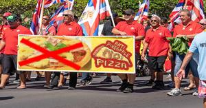 Honolulu : les Hawaïens manifestent pour que la pizza aux ananas change de nom
