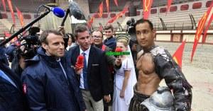 Alexandre Benalla engagé comme gladiateur au Puy du Fou