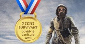 Le gouvernement promet une médaille aux Français qui survivront à 2020
