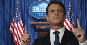 USA : En l'absence de résultats crédibles, Manuel Valls déclaré vainqueur et élu président des USA