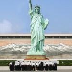 La France récupère la Statue de la Liberté pour l'offrir à la Corée du Nord