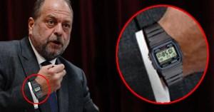 Eric Dupond-Moretti troque sa Rolex contre une Casio à 15€