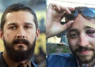 Shia Labeouf lookalike gets punched NYC