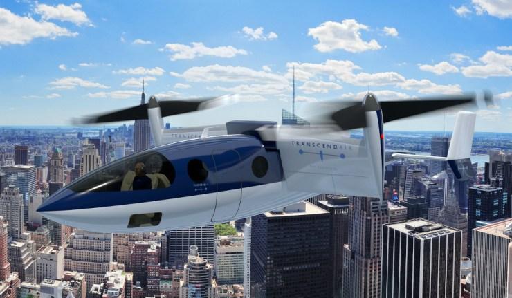 NYC-Transcend-Air-Aircraft
