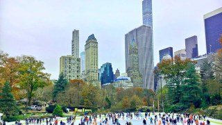 Central Park January