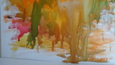 Waterfalls in Watercolour