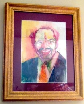 Dad in Watercolour