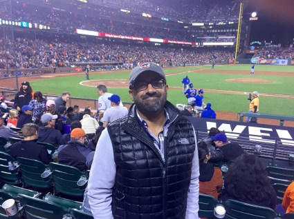Secret Of My SucCecil: Cubs v Giants Game 1 at AT&T Park