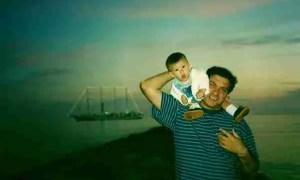 Carlos y Pablo Cano ©PabloCano/SecretOlivoCarta de Carlos Cano a su hijo Pablo