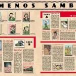 "El ""making of"" de la portada del ¡Menos samba! de Sr. Chinarro"