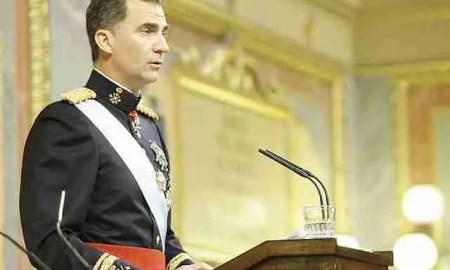 Felipe VI, sin sus amigos.