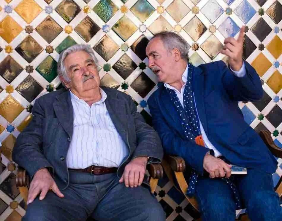 Pepe Mujica en la Alhambra