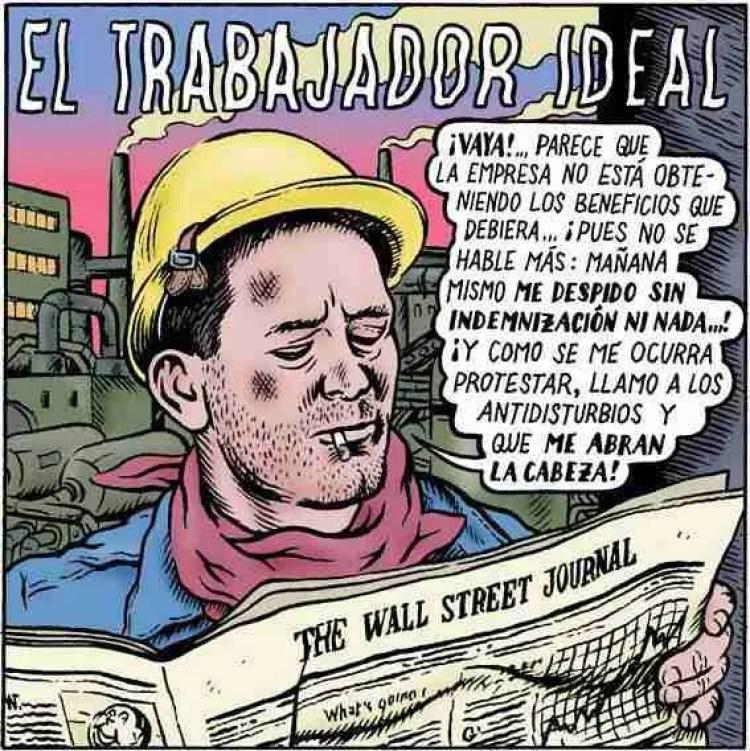 El trabajador ideal, por Miguel Brieva