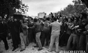 Entierro en Málaga de Manuel José García Caparrós (1977)