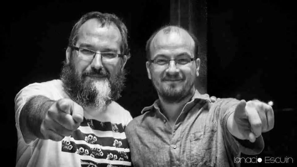 Paco Ramos y José Luis Acosta, gestores de Alascortes Cultural