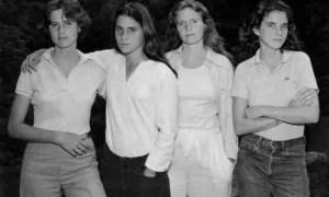 Las hermanas Brown, Fotogradía de Nicholas Nixon
