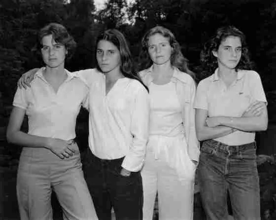 Las hermanas Brown, Fotogradía de Nicholas Nixon