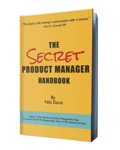 Cover art of The Secret Product Manager Handbook