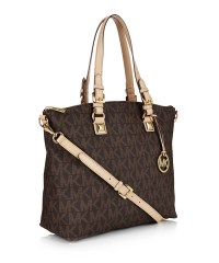 Michael Kors Jet-Set brown tote, Designer Bags Sale ...