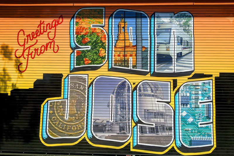 Greetings from San Jose Mural
