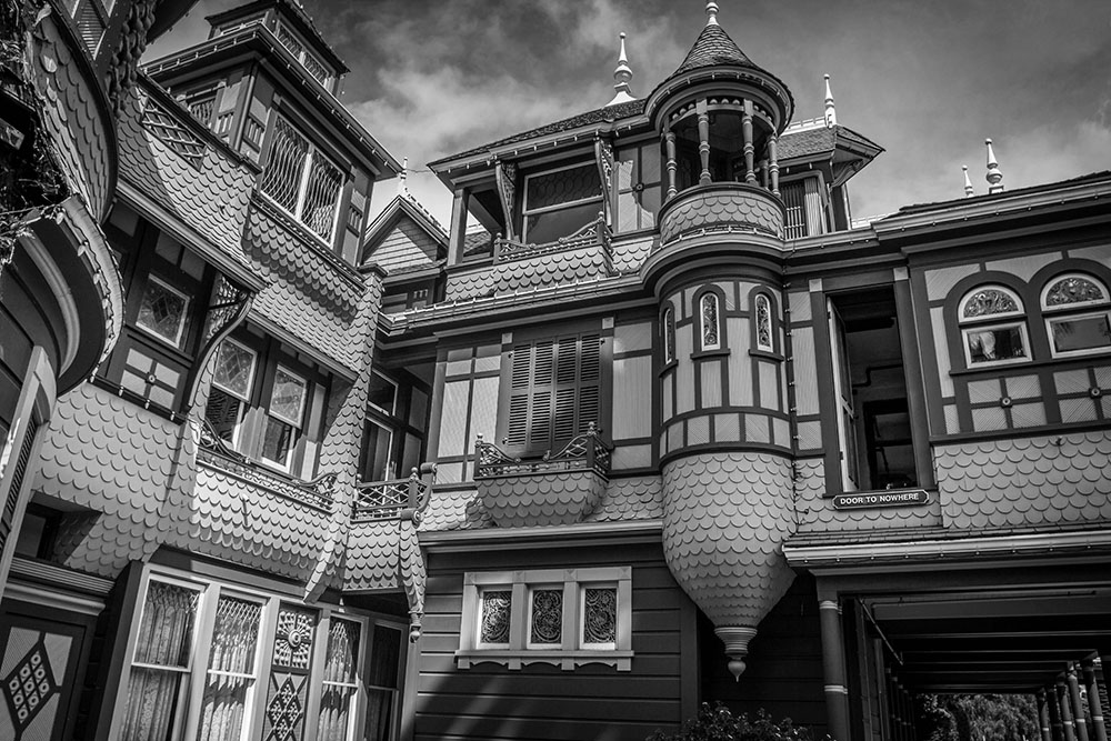 Haunted (?) Winchester Mystery House in San Jose, CA