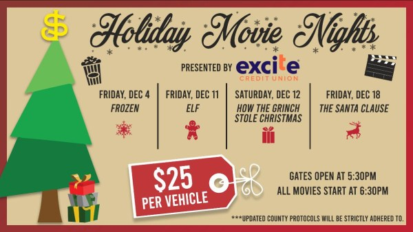 Holiday Movie Nights | SJ Giants