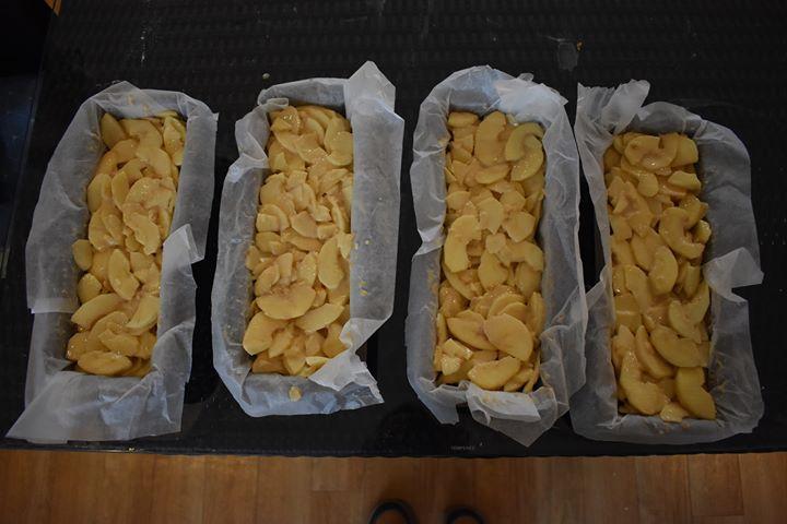Gâteau invisible aux pommes : Prêt à cuire et à déguster