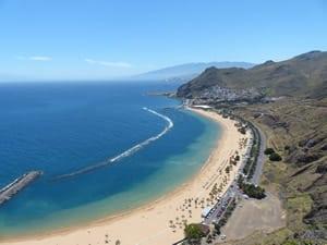 une plage de rêve des Canaries