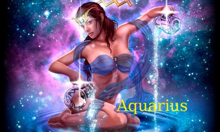 Aquarius lady