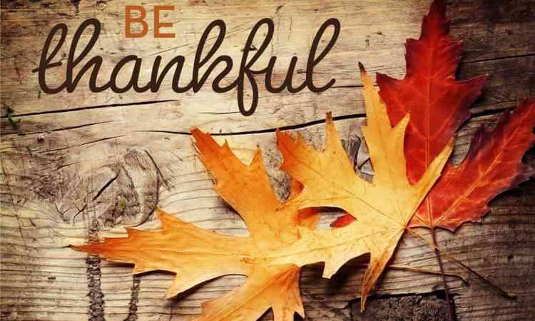 Be Thankful - Thanksgiving History