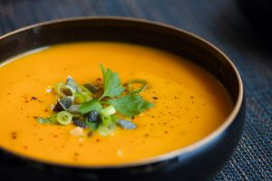 Turmeric Ginger Carrot Soup
