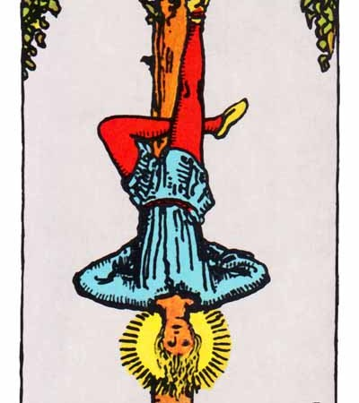 The Hanged Man Card