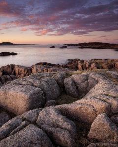 Pink Granite, Fidden, Mull
