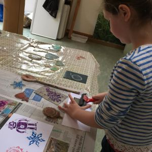 Amanda Hillier Family Friendly Lino Printing