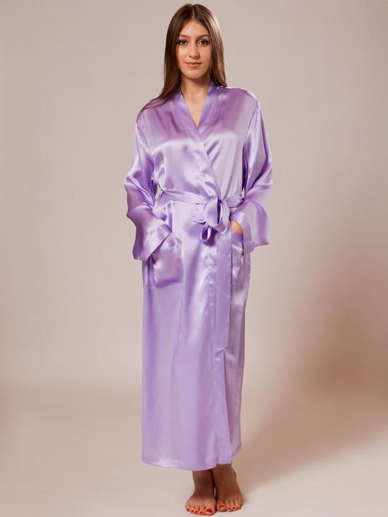 355271e8194d Long Satin Robe with Nightie – Secrets