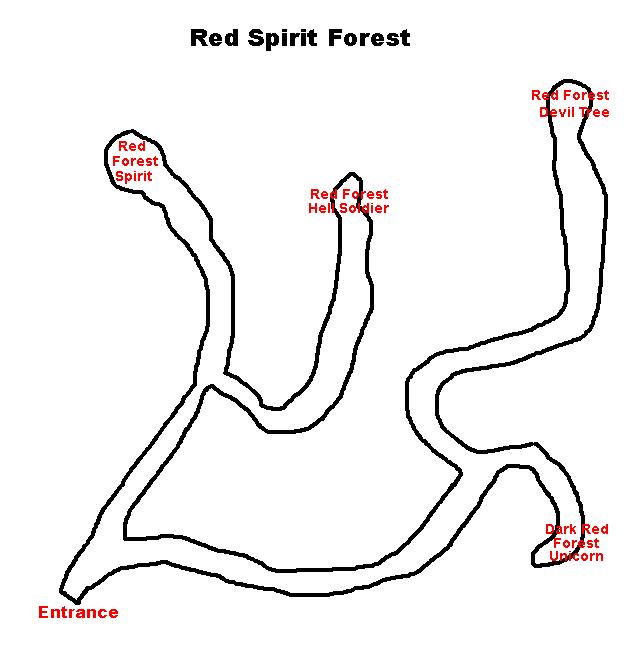 Hero Dungeon Red Spirit Forest (Short Guide