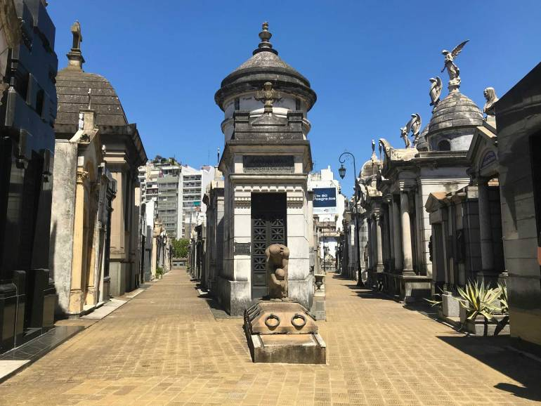 Cemetry Recoleta Things to do