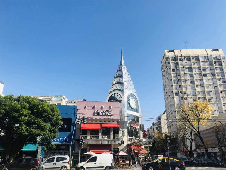 Chrysler Building - Club Manhattan in Buenos Aires