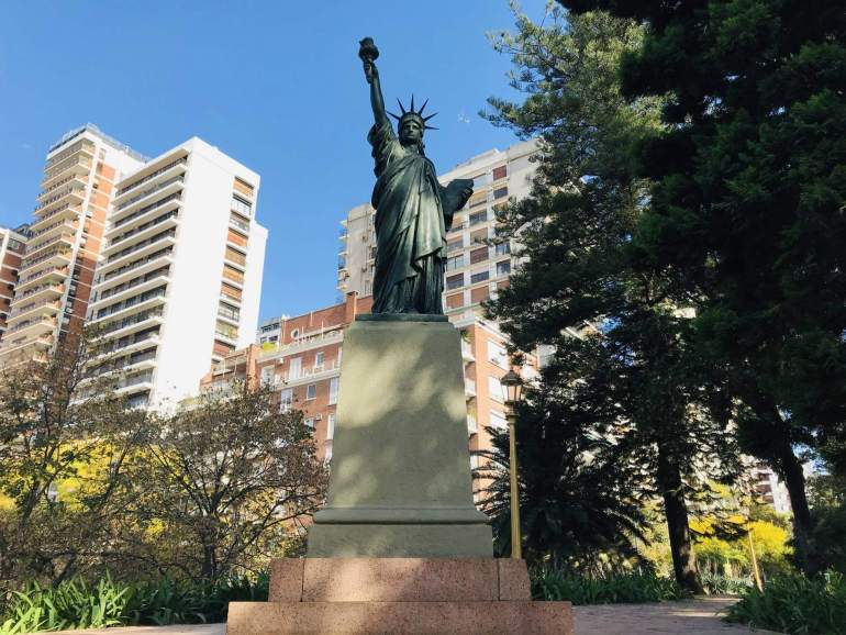 Statue of Liberty Buenos Aires