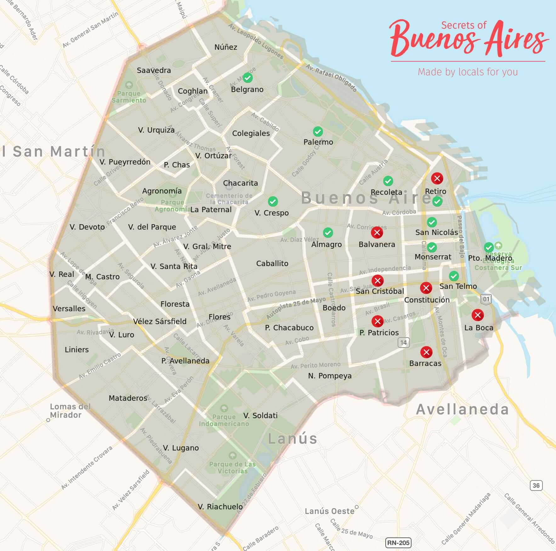 Charming Stay Easy Access To Surrounding Areas: Where To Stay In Buenos Aires: Areas And Neighborhoods