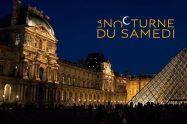Nocturne du Louvre poster