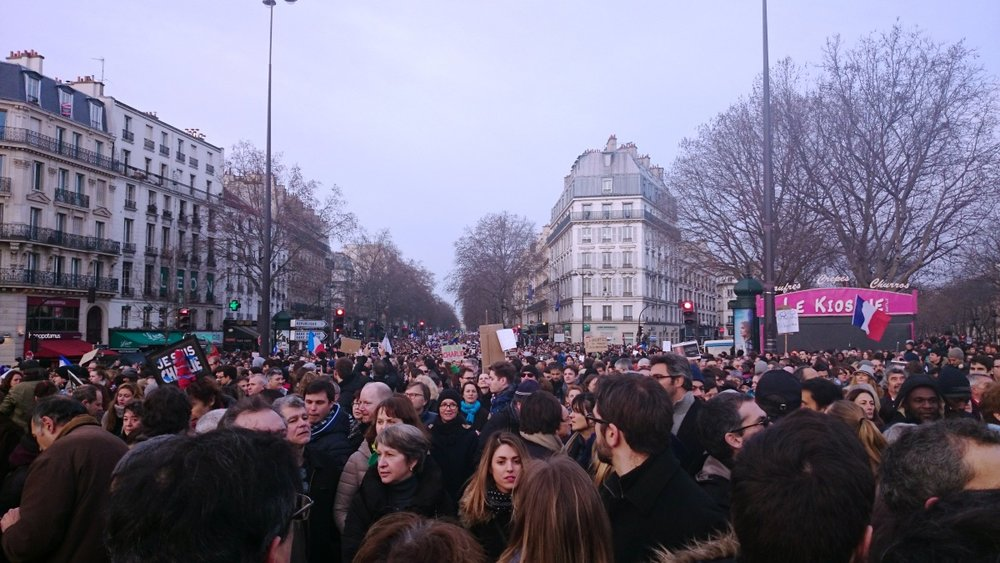 Unity Rally in Paris