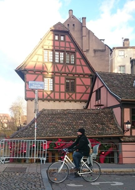bike in Strasbourg