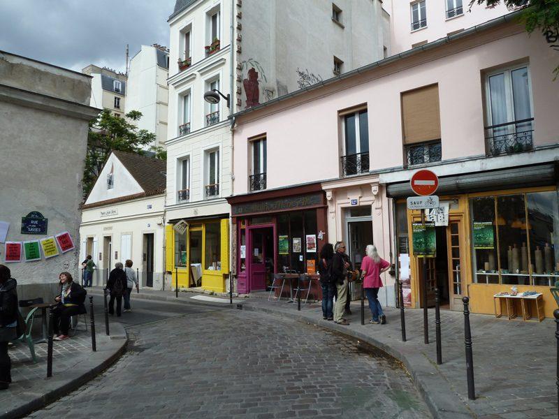 Rue des Cascades Belleville