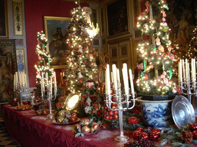 Christmas at Vaux le Vicomte
