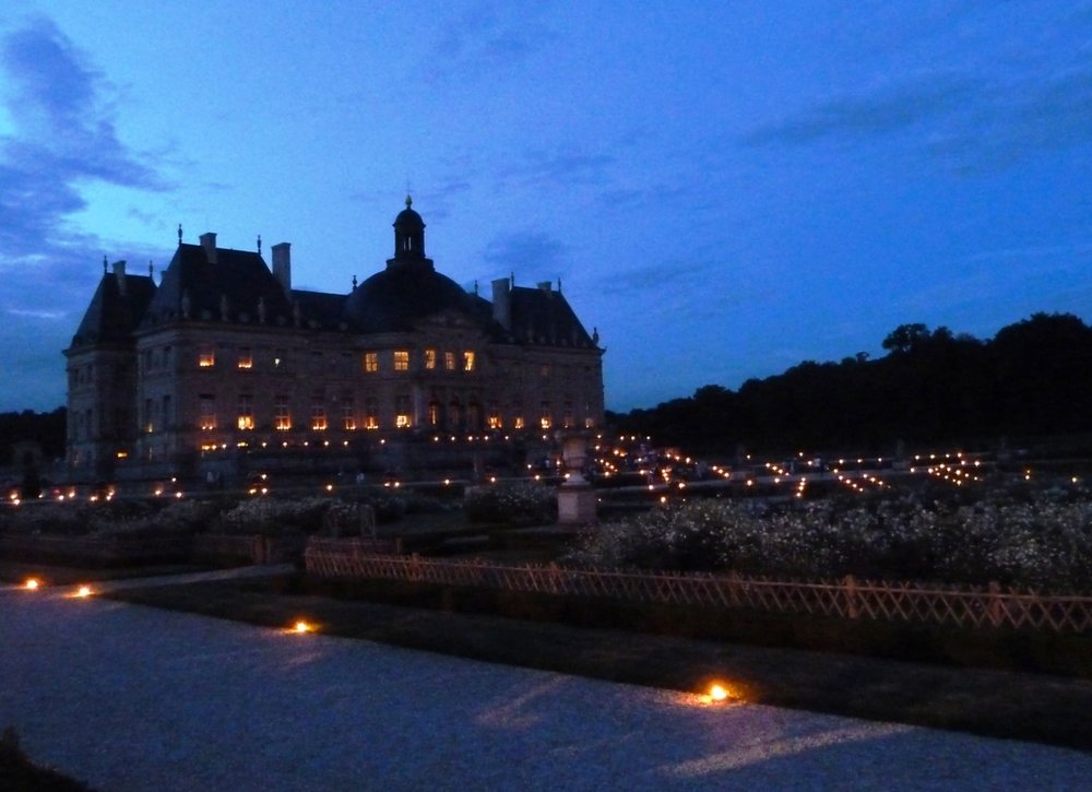 Vaux le Vicomte candlelight